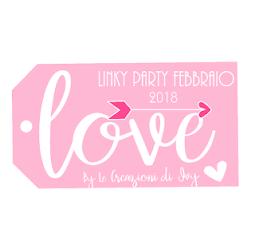 "Linky Party ""Love"" Febbraio 2018 - by Le Creazioni di Ivy"