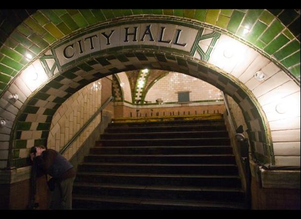 City Hall - estação de Metro abandonada em Nova Iorque