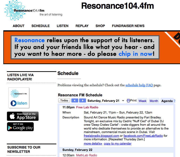 http://resonancefm.com/schedule