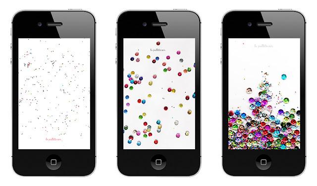 wallpaper fond d'écran iphone téléphone paillettes