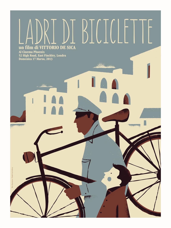 """ladri di biciclette Andiamo in bici a vedere il capolavoro di vittorio de sica ladri di biciclette al  cinema in piazza maggiore per il festival """"cinema ritrovato"""" e."""