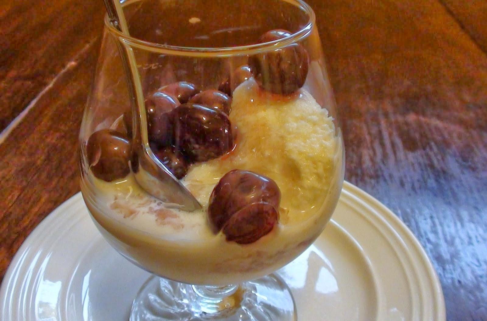 Cherry Bread Pudding Jubilee Recipe — Dishmaps