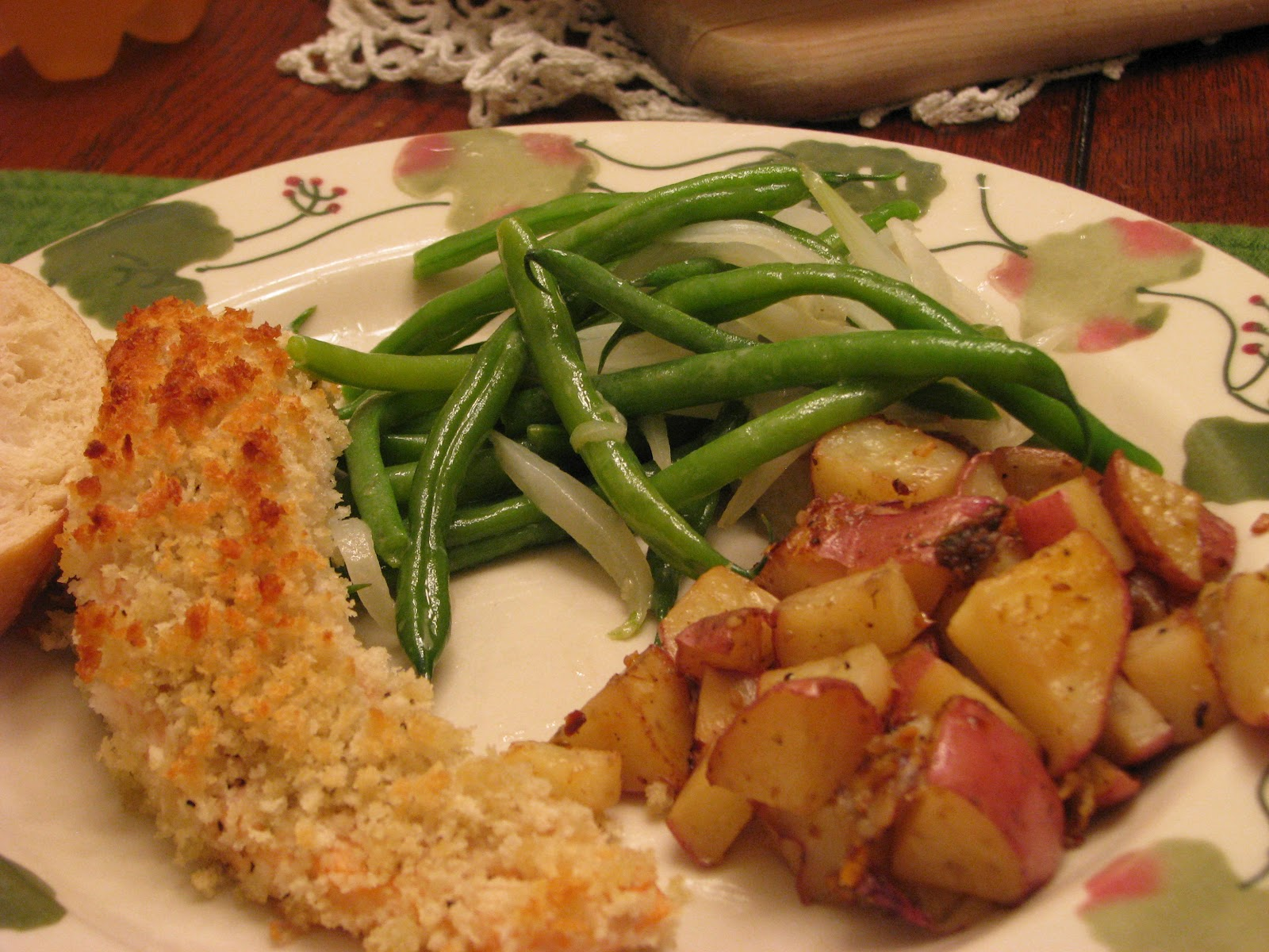 TheFultonGirls: Honey Mustard Salmon w/Green Beans