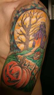 Half Sleeve Tattoo Ideas for Men - Half Sleeve Tattoo Design Photo Gallery