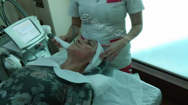 Las ojeras el masaje las revocaciones