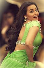 Sonakshi hot boobs show