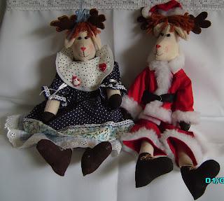 artigos de natal em tecido, Bichinhos em Tecido; Boneca de Pano; Bonecas em tecido; artesanato em tecido
