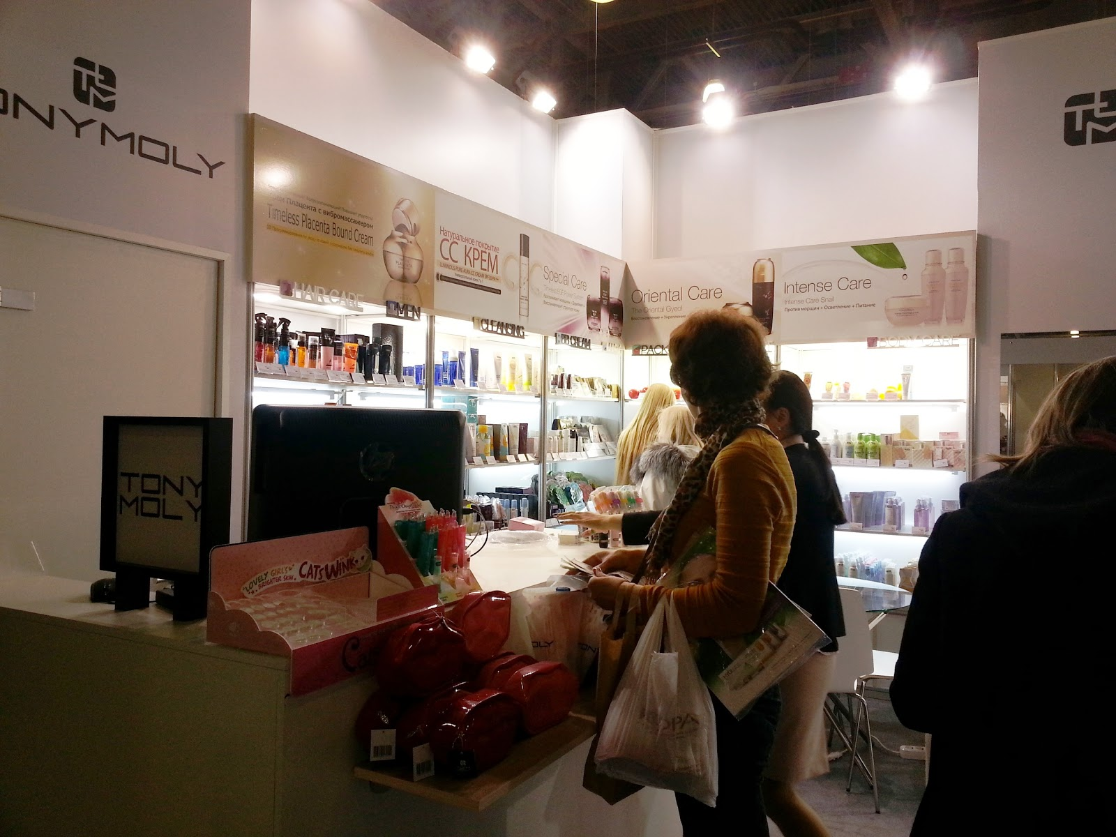 interSHARM, interSHARM 2013, TONYMOLY, ТОНИМОЛИ