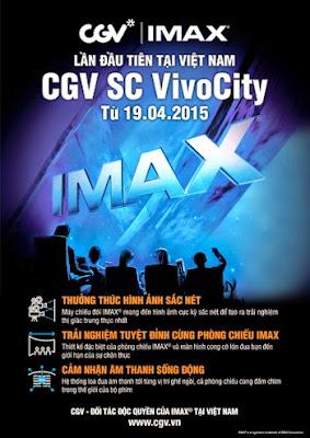 Công nghệ IMAX tại rạp chiếu phim CGV SC VivoCity