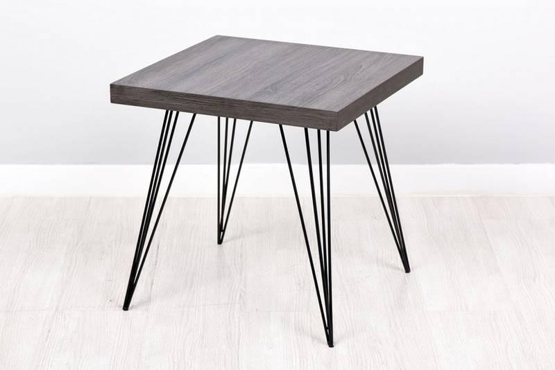 Muebles de forja mesas auxiliares en forja serie copenhague - Mesa auxiliar metalica ...