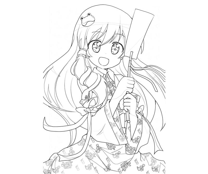 printable-sanae-kochiya-look_coloring-pages-1