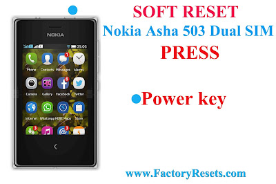 Soft Reset Nokia Asha 503 Dual SIM