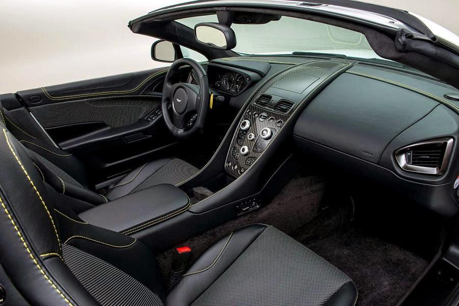 Aston Martin Vanquish Volante Works 60th Anniversary (2015) Interior