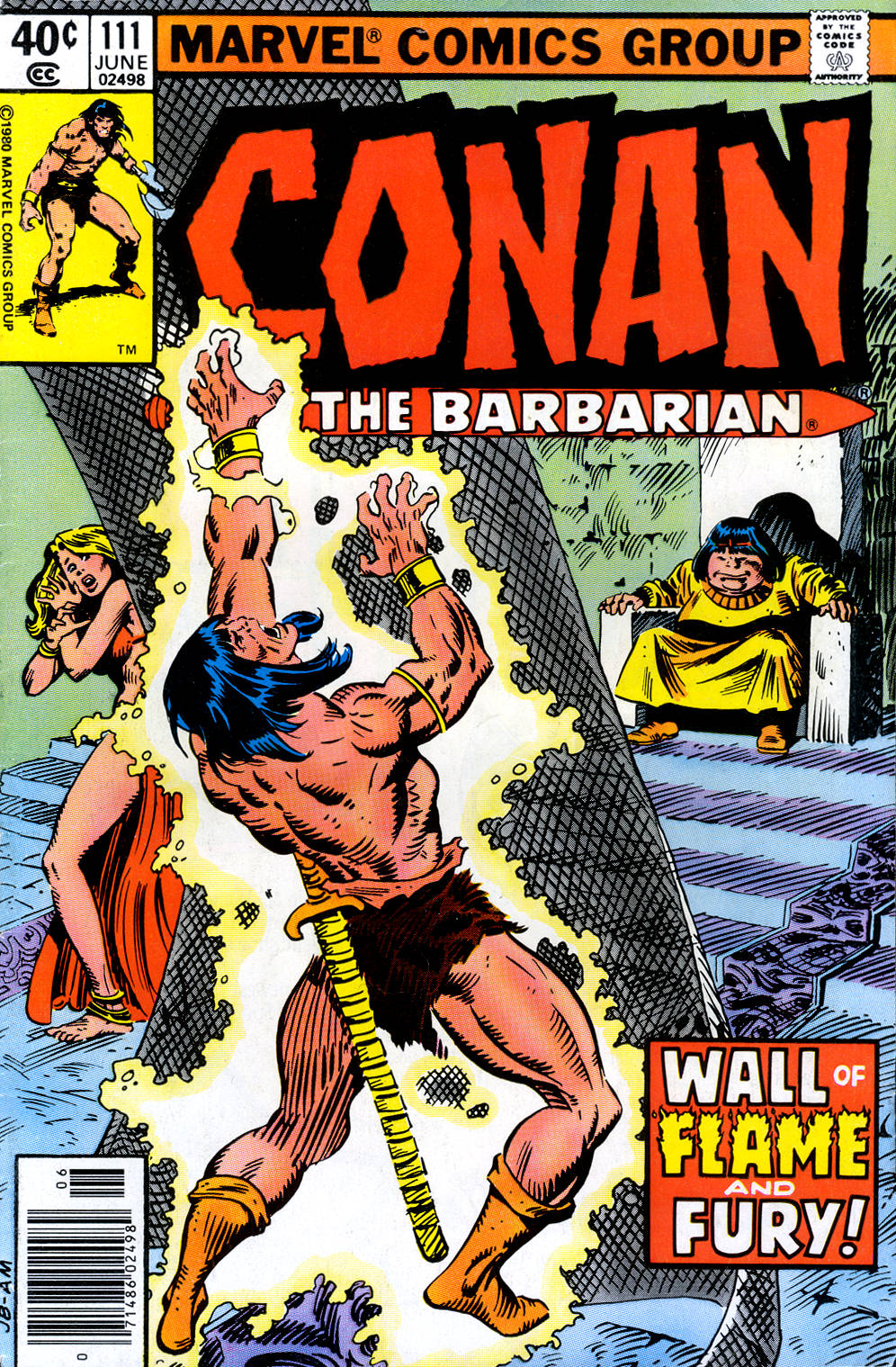 Conan the Barbarian (1970) Issue #111 #123 - English 1
