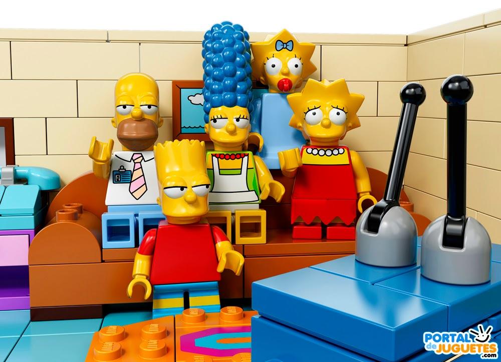 los simpsons lego personajes