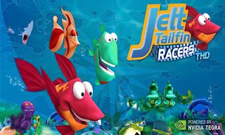 Screenshots of the Jett Tailfin Racers for Android tablet, phone.
