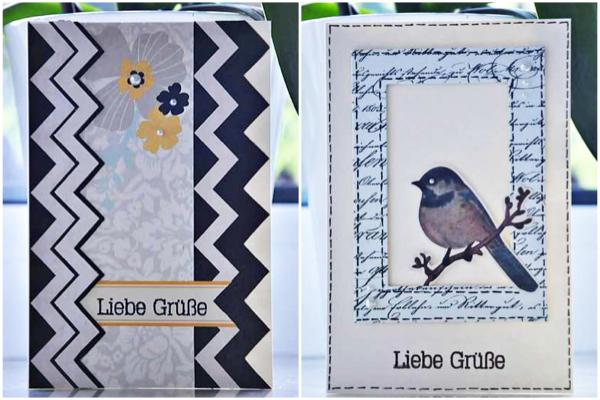 Kit Karten Club im Juni | Karteninspirationen von Ulrike für www.danipeuss.de