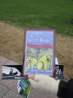 Image of books on polar bears