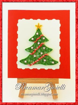 Albero di Natale in quilling