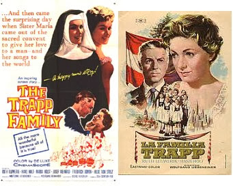 The Trapp Family (1956) $7.99 FREE ship worldwide CLICK photo to view page