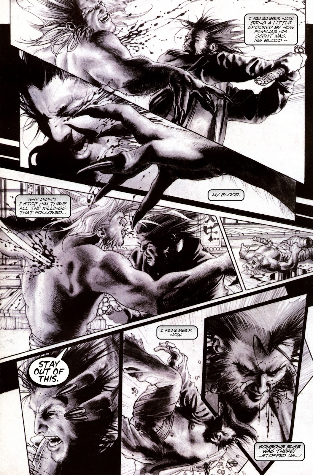 Read online Wolverine (2003) comic -  Issue #53 - 19