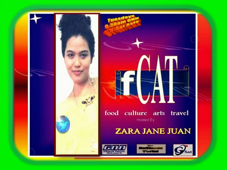 Ambassador Zara Jane Juan TV Show at Global News Network