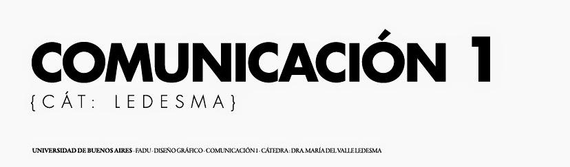 Comunicación (Ledesma)