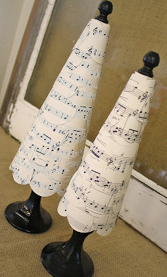 sheet music trees