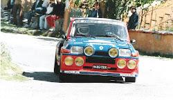 - Segunda montura de Ragnotti que se exhibe en el museo Renault. Decoracion Philips.