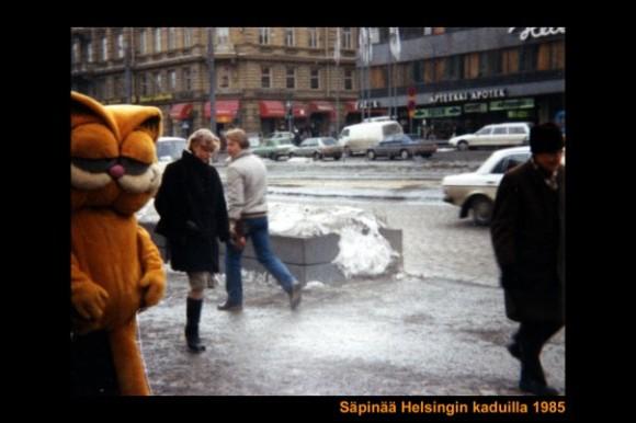 Säpinää Helsingin kaduilla 1985