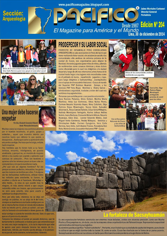 Revista Pacífico Nº 204 Arqueología
