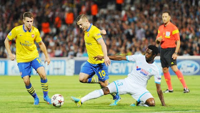 Xem lại đầy đủ trận Arsenal vs Marseille