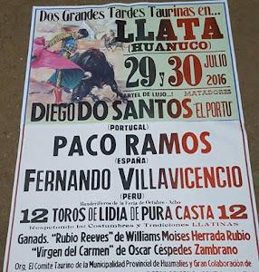 CORRIDA DE TOROS EN LLATA