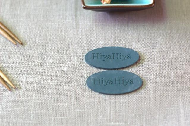 Ignatia Knits' HiyaHiya needle grips in detail