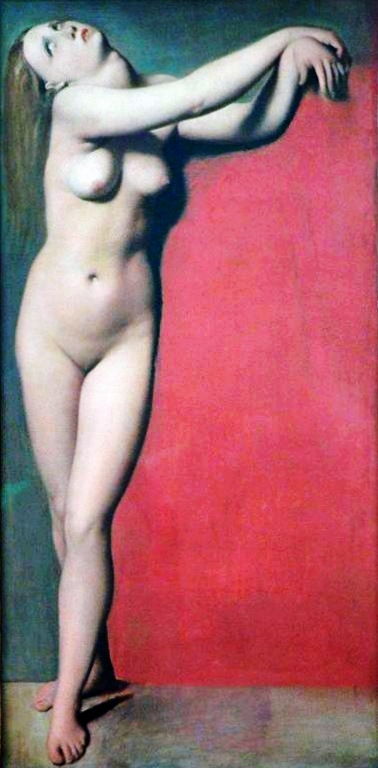 Naked Woman Angelica Ingres