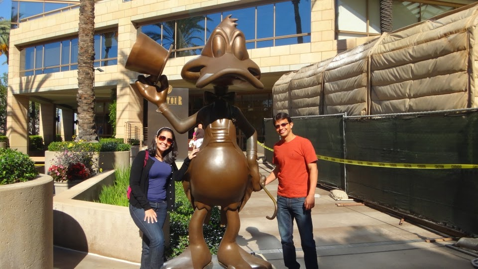 pato donald - warner bros - los angeles