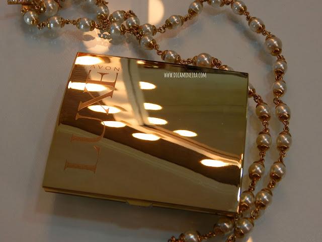 Paleta de Sombras Luxe Ouro Terracota