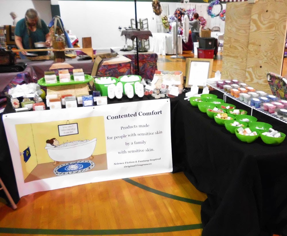 Soap and Perfume Booth at Craft Fair
