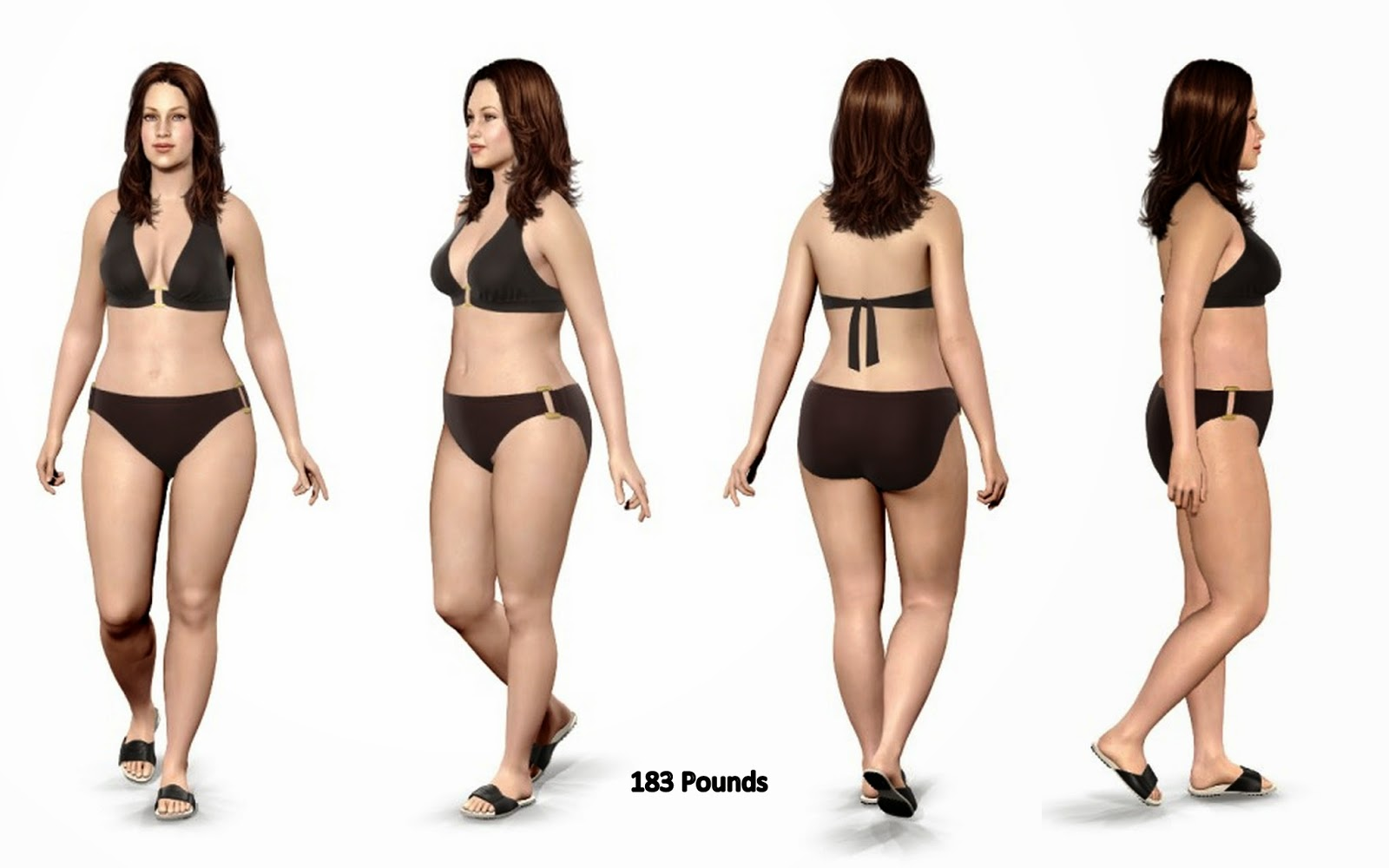 Model My Diet Virtual Weight Loss Simulator and Motivation Tool Free weight loss photo simulator