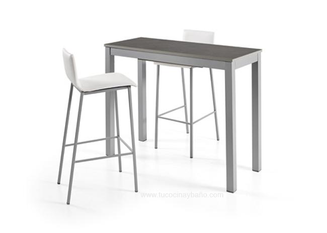 Mesa cocina alta para taburete tu cocina y ba o - Mesa alta cocina ...