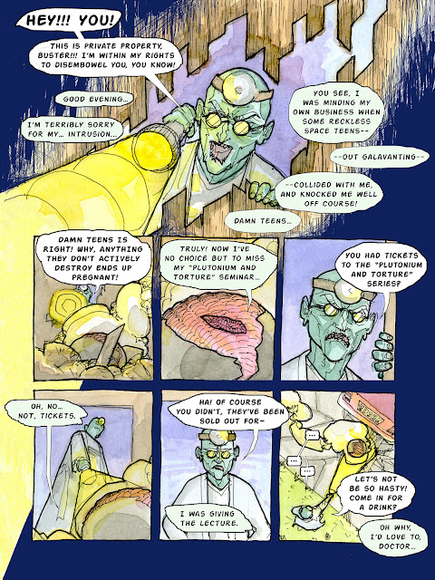 Maniac Mansion: The Comic Page 3