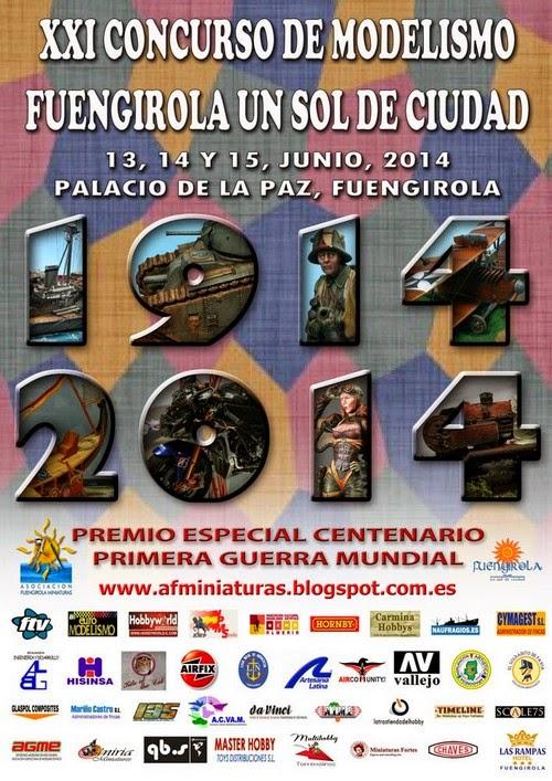 XXI Concurso de Modelismo Fuengirola (I) Taller Timeline