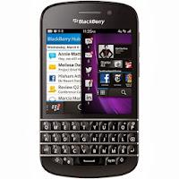 Blackberry Q10 - Hitam