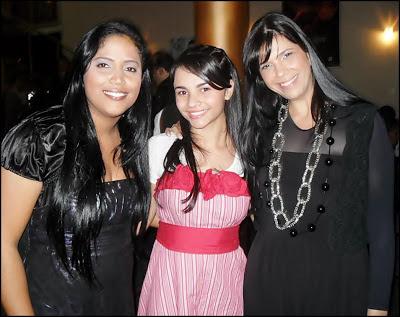 Tania Cristina Francielle Miranda e Cristiane Ferr