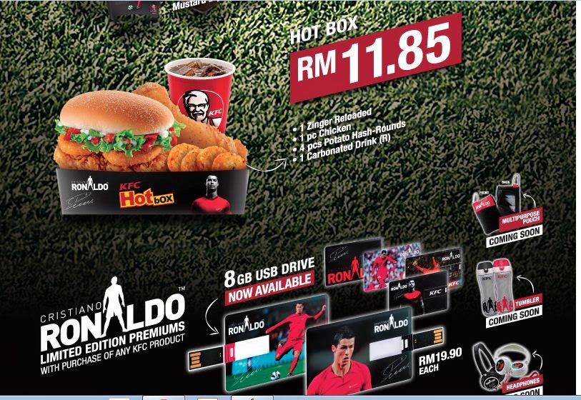 KFC Malaysia Cristiano Ronaldo