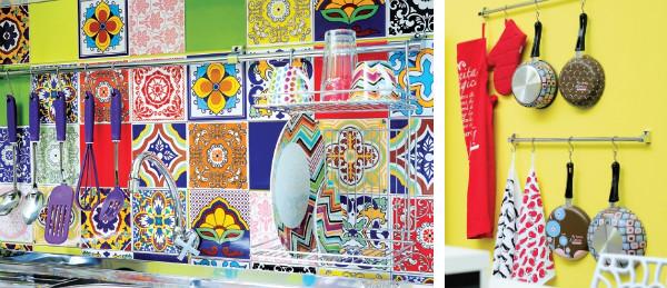 Eu moraria aqui tijolos e azulejos na cozinha for Azulejos decorados
