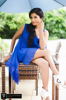 Shehani Wijethunge legs blue