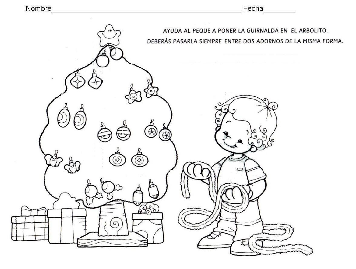 Encantador Navidad Matemáticas Para Colorear Molde - Enmarcado Para ...