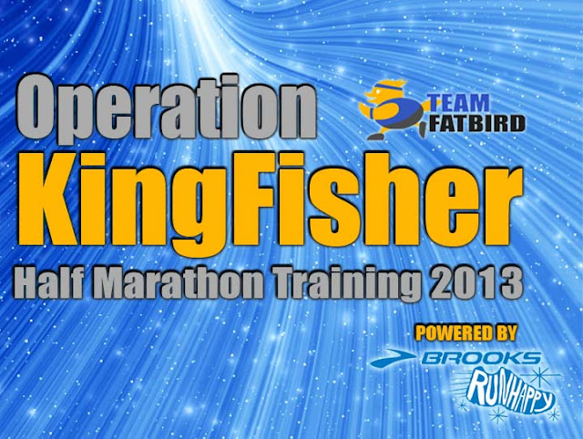 Operation Kingfisher 2013 @ Bay Run & Army Half Marathon