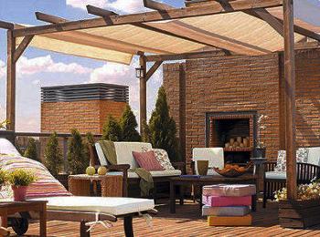 Blog de muebles jard n tipos de toldos para decorar la terraza - Tipos de toldos para terrazas ...